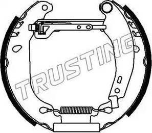 Trusting 6021 - Bremžu komplekts, trumuļa bremzes autodraugiem.lv