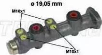 Trusting PF034 - Galvenais bremžu cilindrs autodraugiem.lv