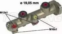 Trusting PF021 - Galvenais bremžu cilindrs autodraugiem.lv