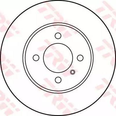 TRW DF1569 - Bremžu diski autodraugiem.lv