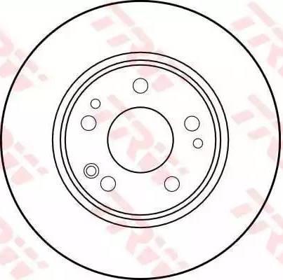 TRW DF1581 - Bremžu diski autodraugiem.lv