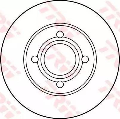 TRW DF1531 - Bremžu diski autodraugiem.lv