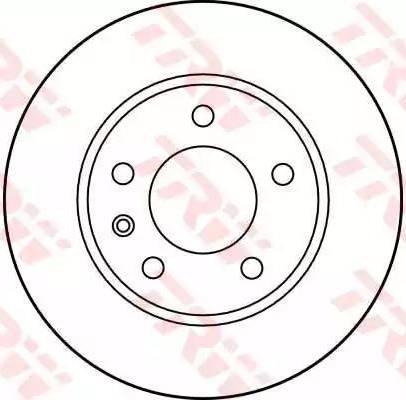 TRW DF1612 - Bremžu diski autodraugiem.lv