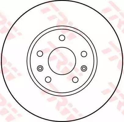 TRW DF1115 - Bremžu diski autodraugiem.lv
