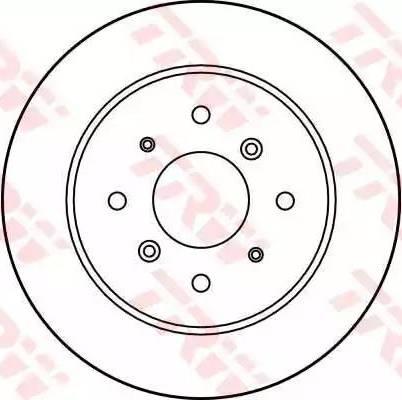 TRW DF1814 - Bremžu diski autodraugiem.lv
