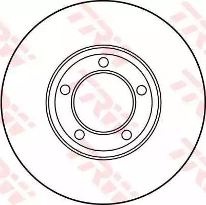 TRW DF1872 - Bremžu diski autodraugiem.lv