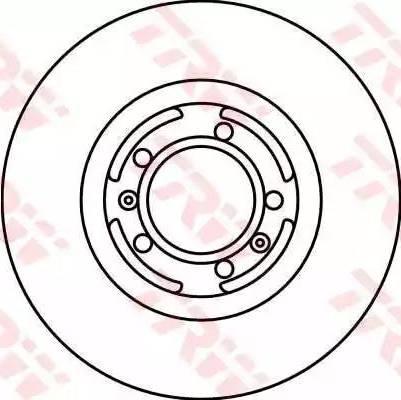 TRW DF1716 - Bremžu diski autodraugiem.lv