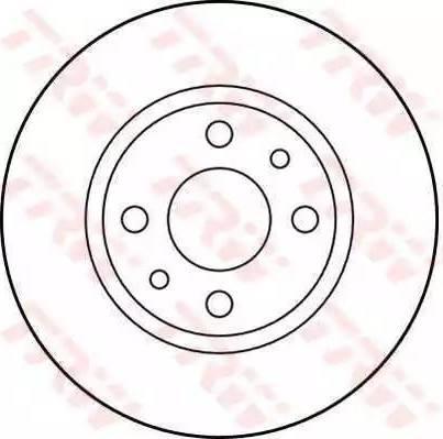 TRW DF1788 - Bremžu diski autodraugiem.lv