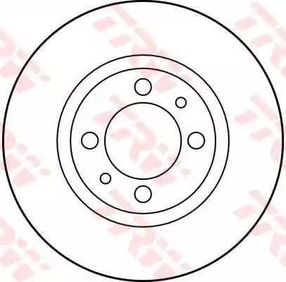 TRW DF1723 - Bremžu diski autodraugiem.lv