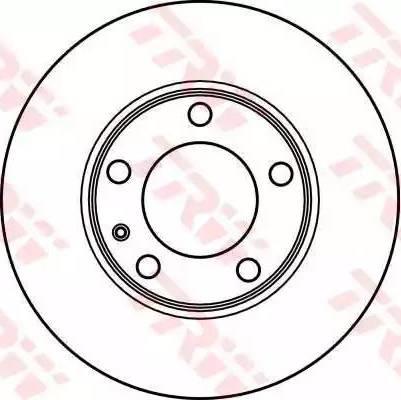 TRW DF2553 - Bremžu diski autodraugiem.lv