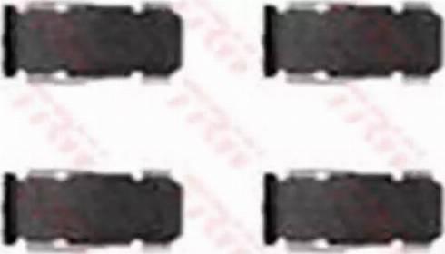 TRW PFK272 - Piederumu komplekts, Disku bremžu uzlikas autodraugiem.lv