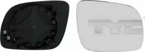 TYC 337-0013-1 - Spoguļstikls, Ārējais atpakaļskata spogulis autodraugiem.lv