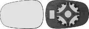 Van Wezel 4323832 - Spoguļstikls, Ārējais atpakaļskata spogulis autodraugiem.lv