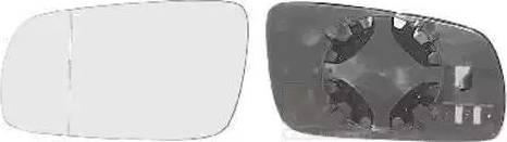 Van Wezel 5888833 - Spoguļstikls, Ārējais atpakaļskata spogulis autodraugiem.lv