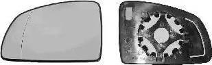 Van Wezel 3781832 - Spoguļstikls, Ārējais atpakaļskata spogulis autodraugiem.lv