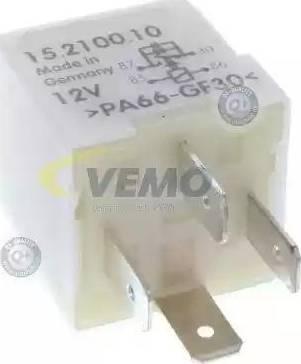 Vemo V15-71-0010 - Relejs, Radiatora ventilatora sistēma autodraugiem.lv