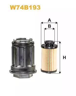 WIX Filters W74B193 - Karbamīda filtrs autodraugiem.lv