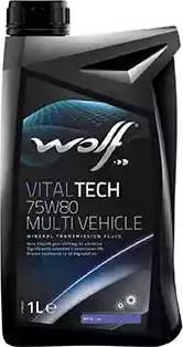Wolf 8303609 - Manuālās pārnesumkārbas eļļa autodraugiem.lv