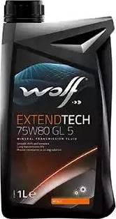 Wolf 8303807 - Manuālās pārnesumkārbas eļļa autodraugiem.lv