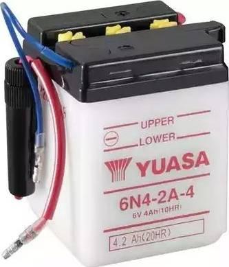 Yuasa 6N4-2A-4 - Startera akumulatoru baterija autodraugiem.lv