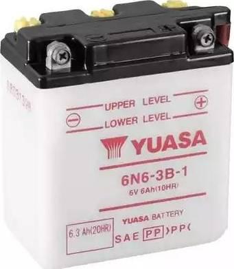 Yuasa 6N6-3B-1 - Startera akumulatoru baterija autodraugiem.lv