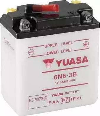 Yuasa 6N6-3B - Startera akumulatoru baterija autodraugiem.lv