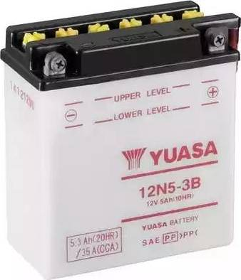 Yuasa 12N5-3B - Startera akumulatoru baterija autodraugiem.lv