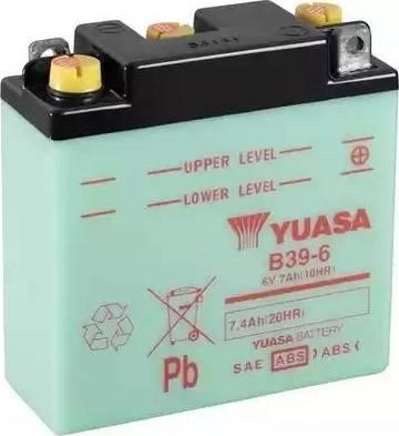 Yuasa B39-6 - Startera akumulatoru baterija autodraugiem.lv