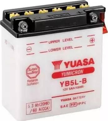 Yuasa YB5L-B - Startera akumulatoru baterija autodraugiem.lv